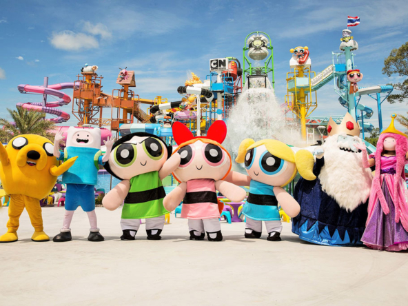 cartoon network allstars patttaya chonburi price opening hours location