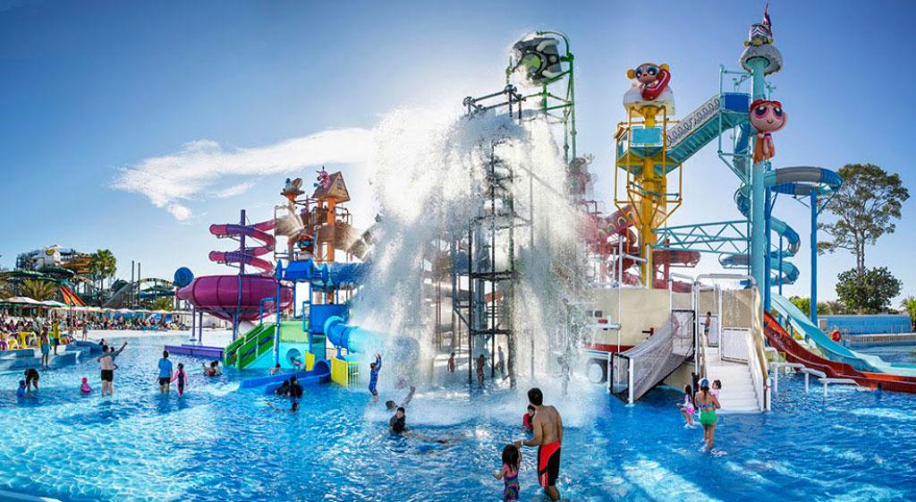 cartoon network pattaya sliders water park