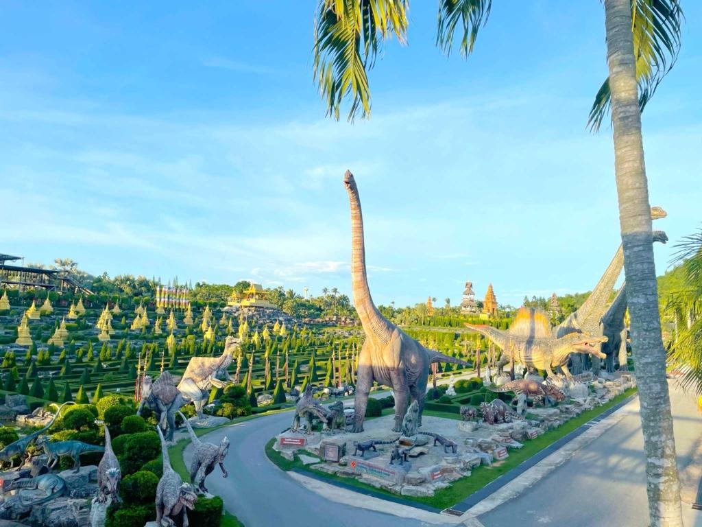 How Relax Pattaya Plan Wonderful Vacation nong nooch tropical dinosaur gardens
