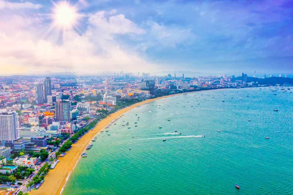 How Relax Pattaya Plan Wonderful Vacation pattaya beach shore line